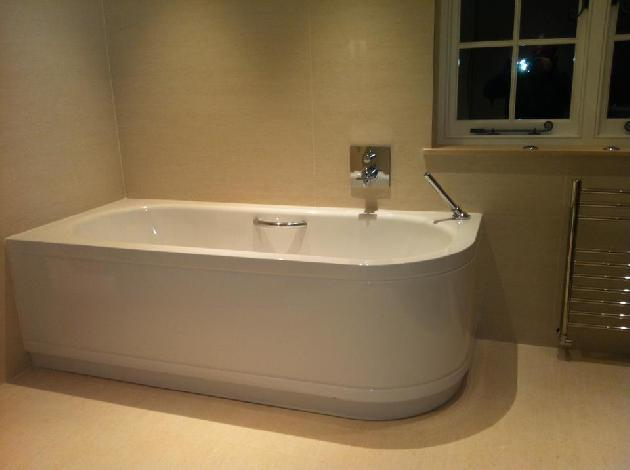 LUXURY BATHROOM INSTALL COVENTRY PLUMBING